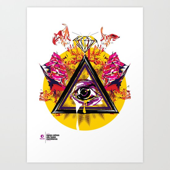 mcnfm_zero três Art Print