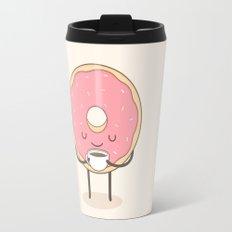 donut loves coffee Travel Mug