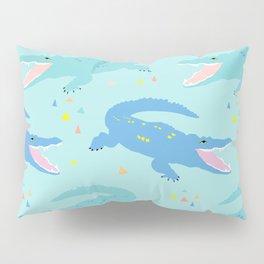 Nile Crocodile Rock Pillow Sham