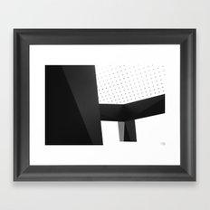 Geometric Bliss Framed Art Print