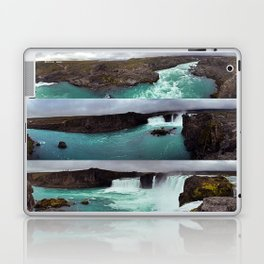 Goðafoss (Waterfall of the Gods) in Northern Iceland Laptop & iPad Skin
