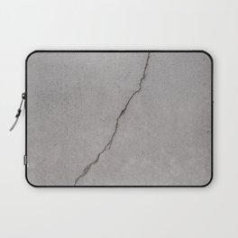 cracked concrete texture - cement stone Laptop Sleeve