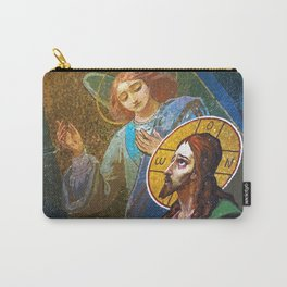 The image of Jesus Christ in a fresco -  Russia Carry-All Pouch