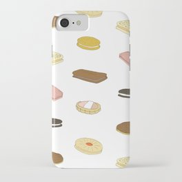 biscui - biscuit pattern iPhone Case
