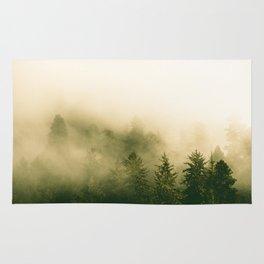 Redwood Rising - Nature Photography Rug