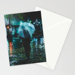 Walking Down Street - Memphis Photo Print Stationery Cards