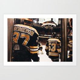 Bruins #2 Art Print