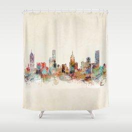 melbourne australia Shower Curtain