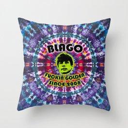 Rod Blagojevich: Fuckin Golden Since 2008 - Tie Dye Shambhala Throw Pillow