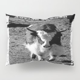 Action Yakson: King of the Yaks Pillow Sham