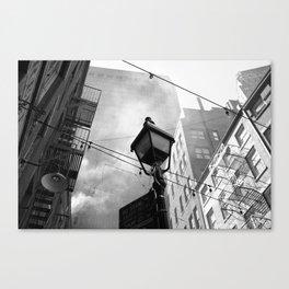 New York Street Life Canvas Print