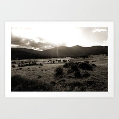 A Colorado Hike Art Print