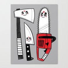 Happy Slasher Pals Canvas Print