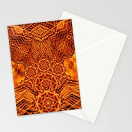 Fire Elemental Temple Stationery Cards