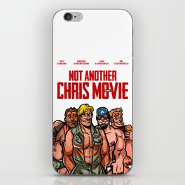 Not Another Chris Movie iPhone Skin