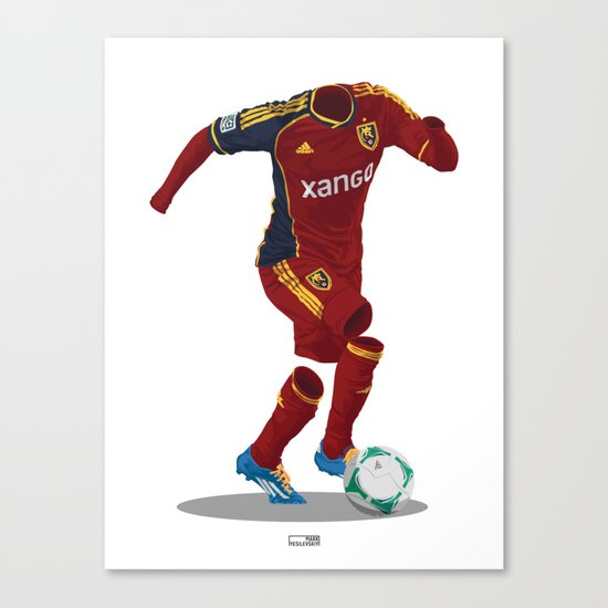 Real Salt Lake 2012/13 Canvas Print