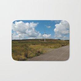 Hill Top Wind Farm Bath Mat