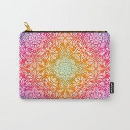 rainbow aura mandala Carry-All Pouch