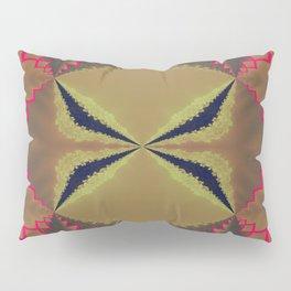 Pinkbrown(blue) Pattern 8 Pillow Sham