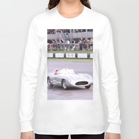 mercedes Long Sleeve T-shirts featuring Mercedes Benz Silberpfeil with Stirling Moss by Premium