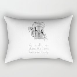 Cheyenne - All Cultures Share the Same Fate Eventually Rectangular Pillow