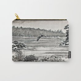 Winter Eagles Carry-All Pouch