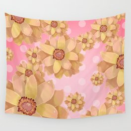 """flowers3"" Wall Tapestry"