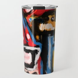 Art Brut Outsider Art Street Graffiti Travel Mug