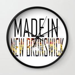 Made in New Brunswick Wall Clock