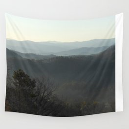 The Smokey Mountains Wall Tapestry