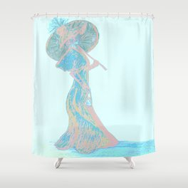 Eloquent Times Shower Curtain