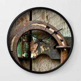 Country Rustic Wall Clock