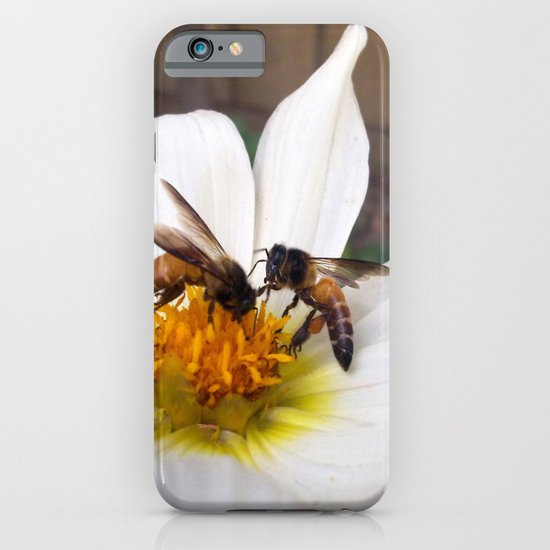 Bees at Work iPhone & iPod Case
