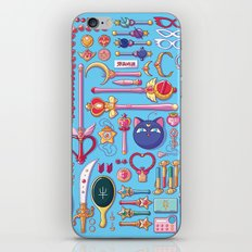 Magical Arsenal Blue iPhone & iPod Skin
