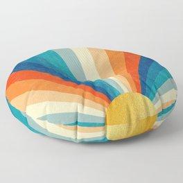 Sunrise #10 Floor Pillow
