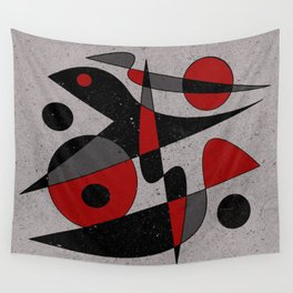 Abstract #110 Wall Tapestry