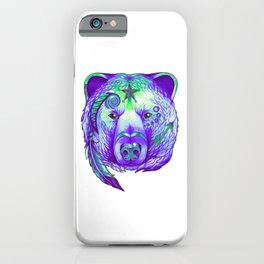 Native American Spirit Bear iPhone Case