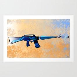 Sci-fi M16 Art Print