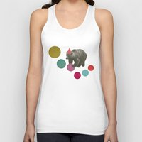 birthday Tank Tops featuring Birthday Bear by Cassia Beck
