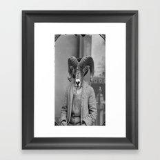Mr. Goat  Framed Art Print
