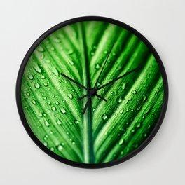 Rainy Days 7 Wall Clock