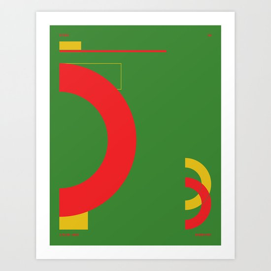 La Paz — City Series Art Print