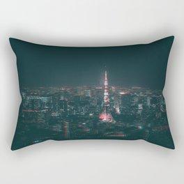 Tokyo Tower 20XX Rectangular Pillow
