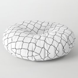 Minimalist Moroccan Floor Pillow