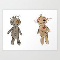 Ragdoll Buddies Art Print