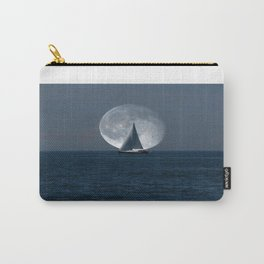 Full Moon Sailing Carry-All Pouch