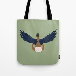 Bird Man Tote Bag