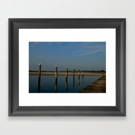 Wood & Water Framed Art Print
