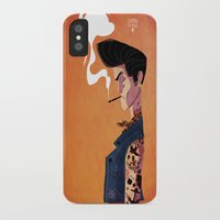 rockabilly iPhone & iPod Cases featuring Rockabilly Boy by quentinschall