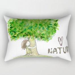 Love nature Rectangular Pillow